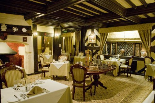 The Restaurant at the Albright Hussey Manor Hotel