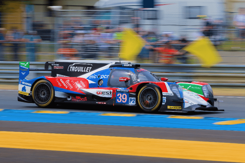 le mans 17 with albright car