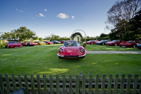 Ferrari Dino at the Albright Hussey Manor