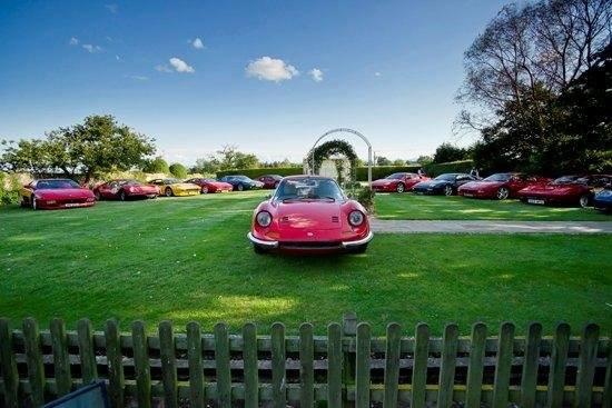 Ferrari Club at The Albright Hussey Manor