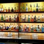 Gin Bar at the Albright Hussey Manor