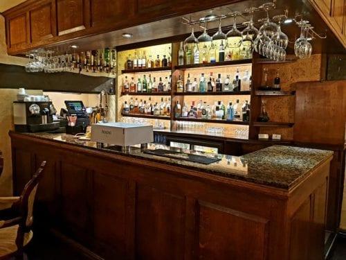 Whisky Bar at the Albright Hussey Manor