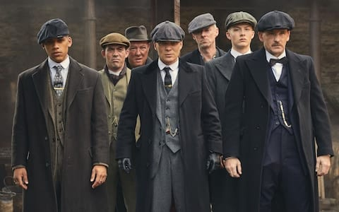 Peaky Blinders at the Albright Hussey Manor