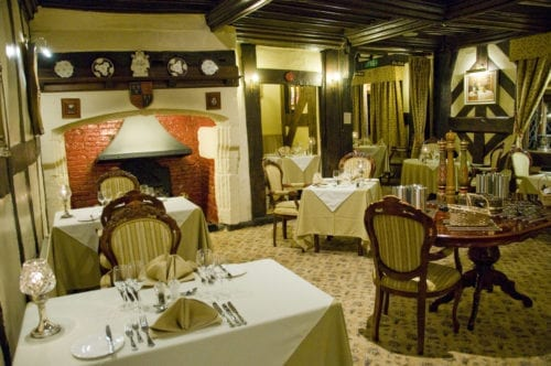 Shropshire Tudor restaurant