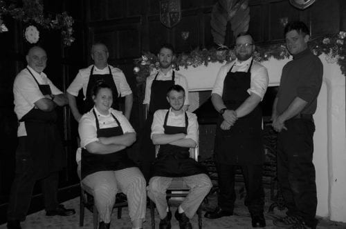 Chef at the Hussey shropshire